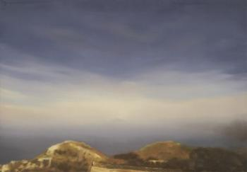 Gerhard Richter-Vesuv 407 (Vesuvius 407)-1976
