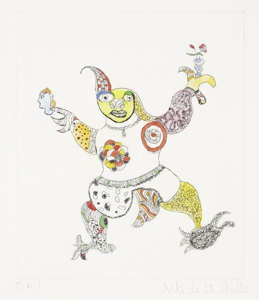 Niki de Saint Phalle-The clown-1998