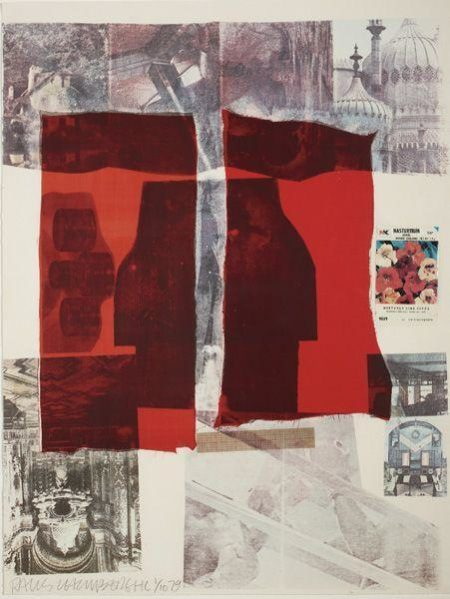 Robert Rauschenberg-Robert Rauschenberg - Why You Can't Tell # 2 (From Suite Of Nine Prints)-1979