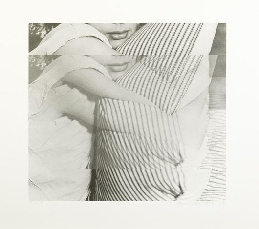 John Baldessari-Woman with Pillow-2003