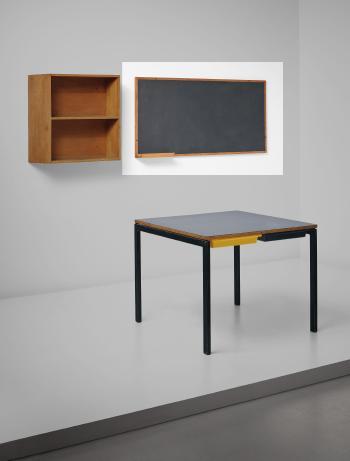 Le Corbusier-Blackboard with chalk holder-1959