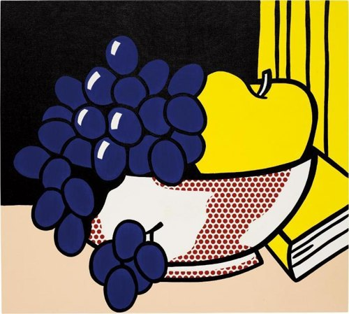 Roy Lichtenstein-Still life-1972
