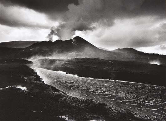 Sebastiao Salgado-Volcanic Eruption of Mt. Nyamuragira, Democratic Republic of the Congo from Genesis-2004