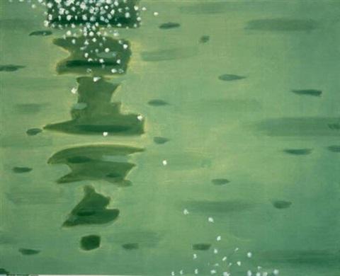 Alex Katz-Green Reflections-1998