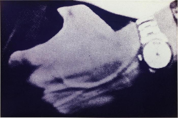 Richard Prince-Man's Hand With Watch-1980