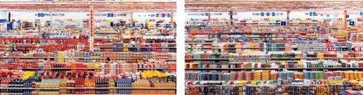 Andreas Gursky-99 Cent II-2001