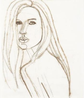 Alex Katz-Kate-2003