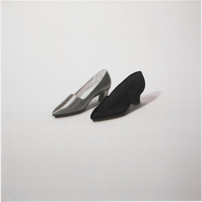 John Baldessari-Two Shoes (One Black)-1997