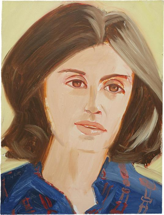 Alex Katz-Portrait of a Woman / Woman-1980