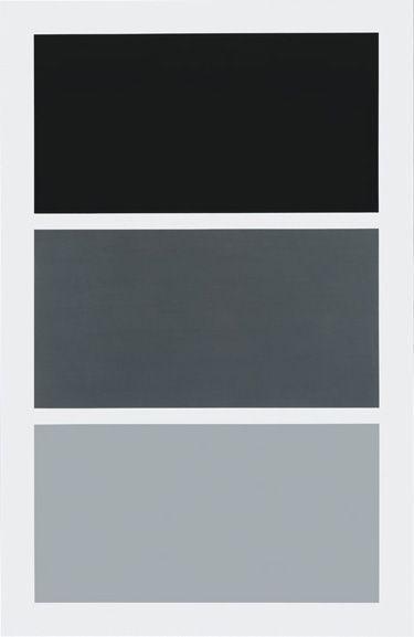 Gerhard Richter-Drei Grau Ubereinander (Three greys one upon the other)-1984