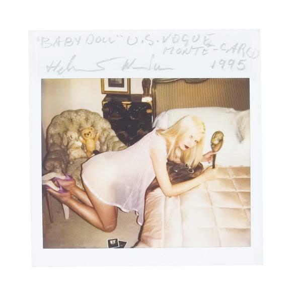 Helmut Newton-Baby Doll , U.s. Vogue, Monte Carlo, 1995. (1995)-1995