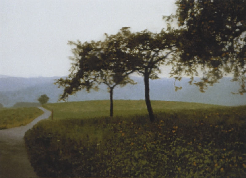 Gerhard Richter-Apfelbaume (Apple Trees)-1987