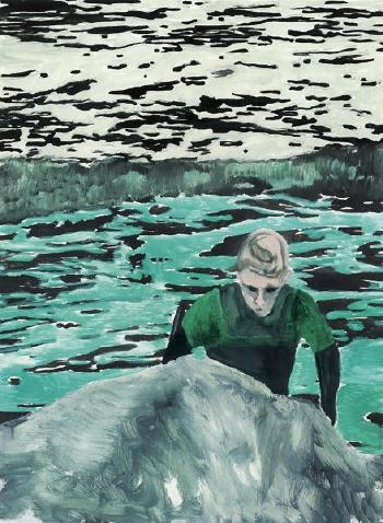 Peter Doig-Surfer-2000