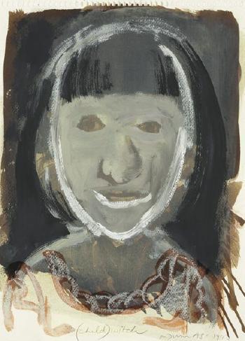 Marlene Dumas-Child, Witch-1990