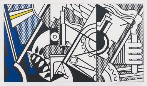 Roy Lichtenstein-Peace Through Chemistry IV-1970