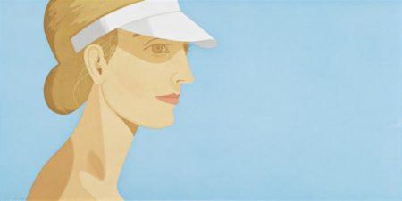 Alex Katz-White Visor-2003