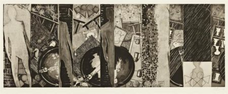 Jasper Johns-The Seasons (ulae 244)-1989