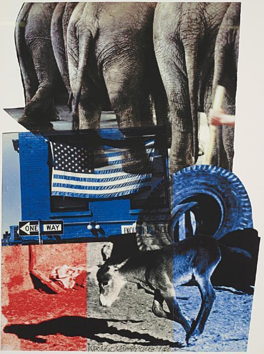 Robert Rauschenberg-Robert Rauschenberg - Hillary Rodham Clinton Campaign Print-2000