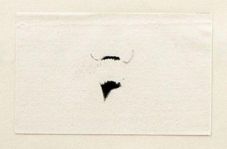 Marcel Duchamp-Mustache and Beard of L.H.O.O.Q.-1941