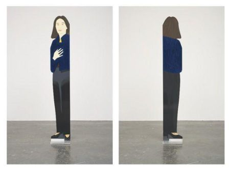 Alex Katz-Standing Ada (Schroder, 216)-1987