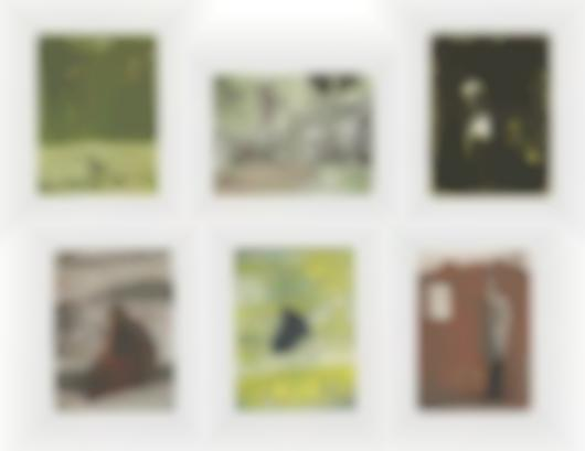 Peter Doig-Black Palms (Serie) / Untitled Portfolio-2004