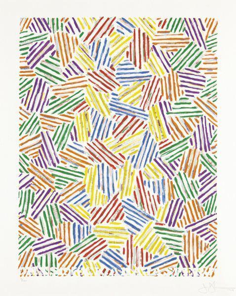 Jasper Johns-Cicada, from Marginalia : Homage to Shimizu portfolio-1979