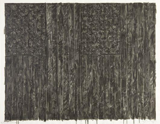 Jasper Johns-Flags II-1973