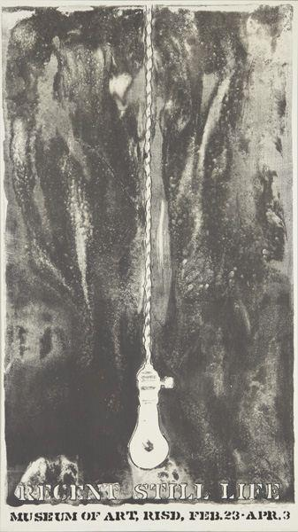 Jasper Johns-Recent Still Life (F. 50) (Universal Limited Art Editions 22)-1965
