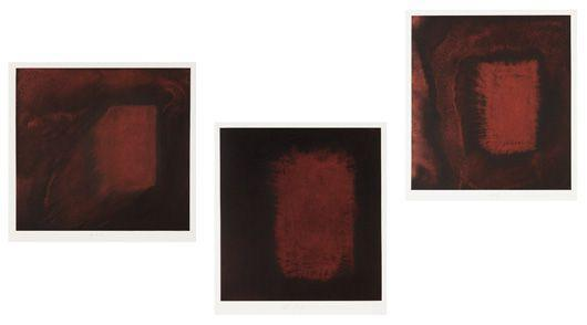 Anish Kapoor-Untitled (Triptych)-2001