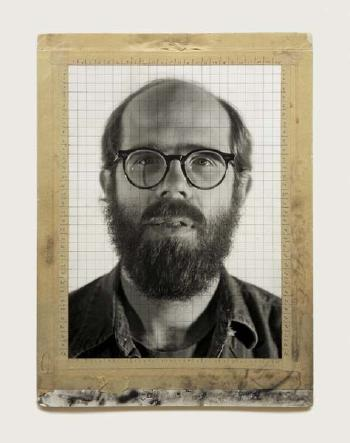 Chuck Close-Self Portrait-1977