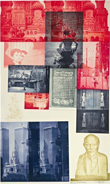 Robert Rauschenberg-Robert Rauschenberg - Soviet American Array I-1989