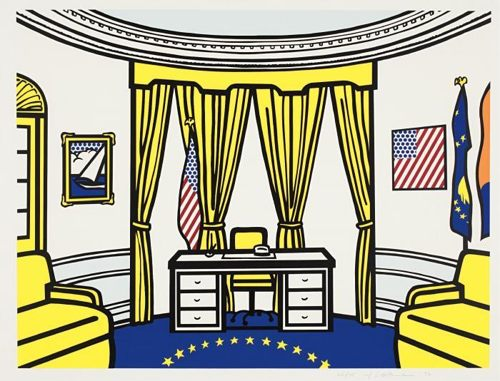 Roy Lichtenstein-Oval Office-1992