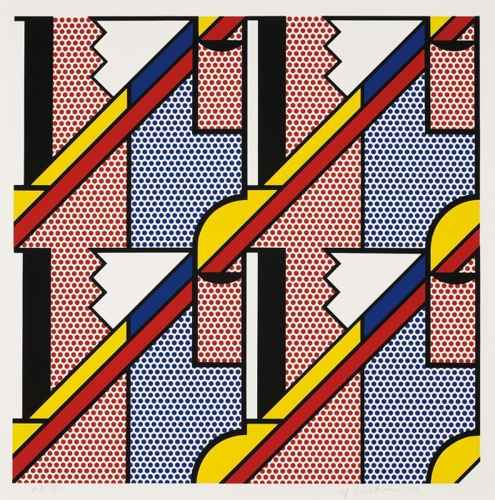 Roy Lichtenstein-Modern Print-1970