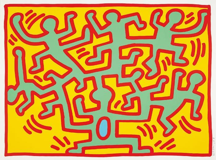 Keith Haring-Keith Haring - Growing 2-1988