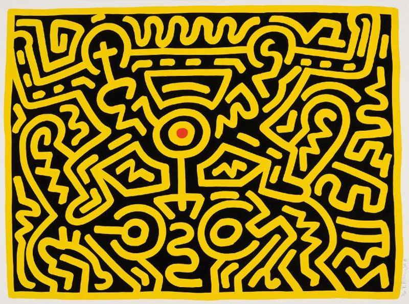 Keith Haring-Keith Haring - Growing 4-1988