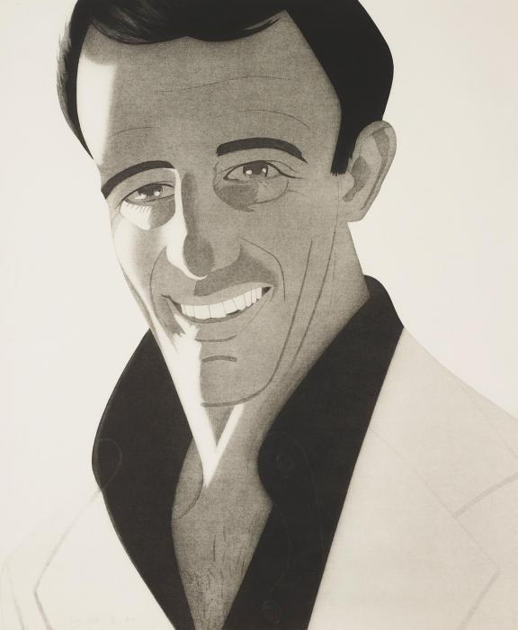 Alex Katz-Self-Portrait (Schroder 111)-1978
