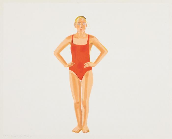 Alex Katz-Swimmer (S. 235; Blum 40)-1991