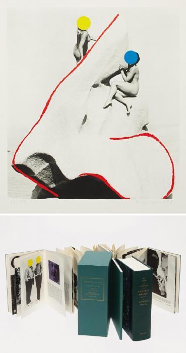 John Baldessari-Two Nude Women Perched on a Rock (The Promontory of Noses)-1988