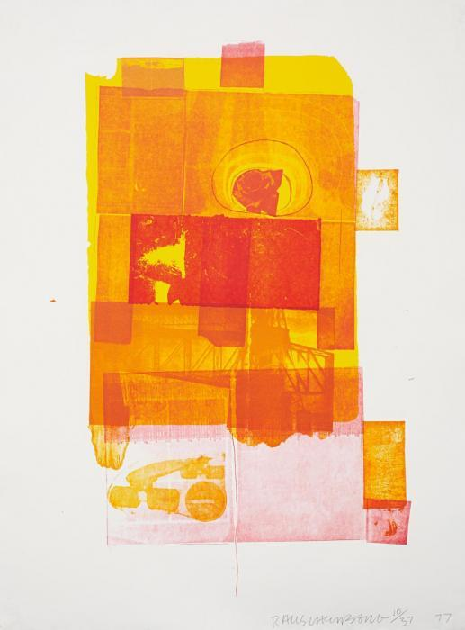 Robert Rauschenberg-Robert Rauschenberg - Romances (Pomegranate) (From Romances Series)-1977