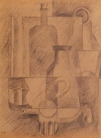 Le Corbusier-Nature morte-1921