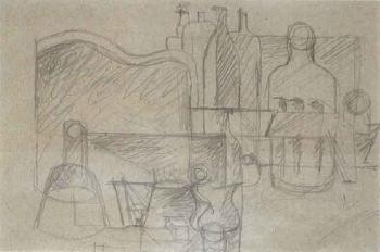 Le Corbusier-Nature morte-1923