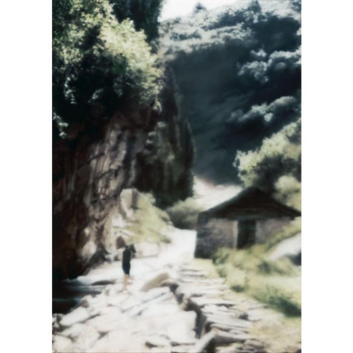 Gerhard Richter-Ravine-1997