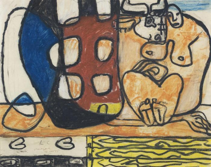 Le Corbusier-Chandigarth-1955