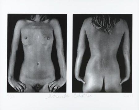 Chuck Close-Kate Moss / Diptyque-2003
