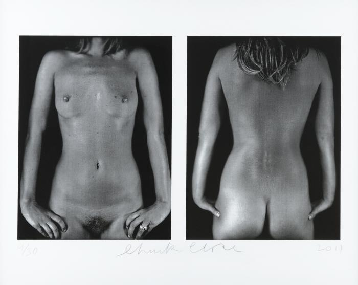 Chuck Close-Kate Moss / Diptyque-2003