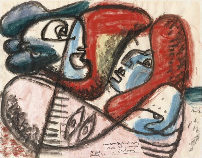Le Corbusier-Sans titre-1946