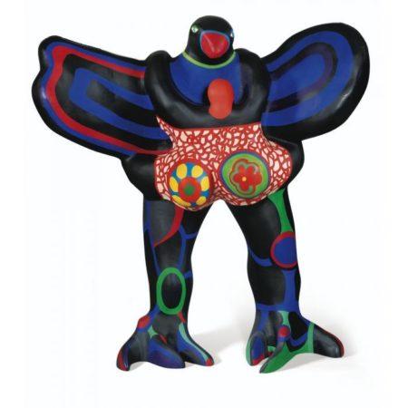 Niki de Saint Phalle-L'oiseau amoureux, (L'oiseau amoureux, la nuit)-1990