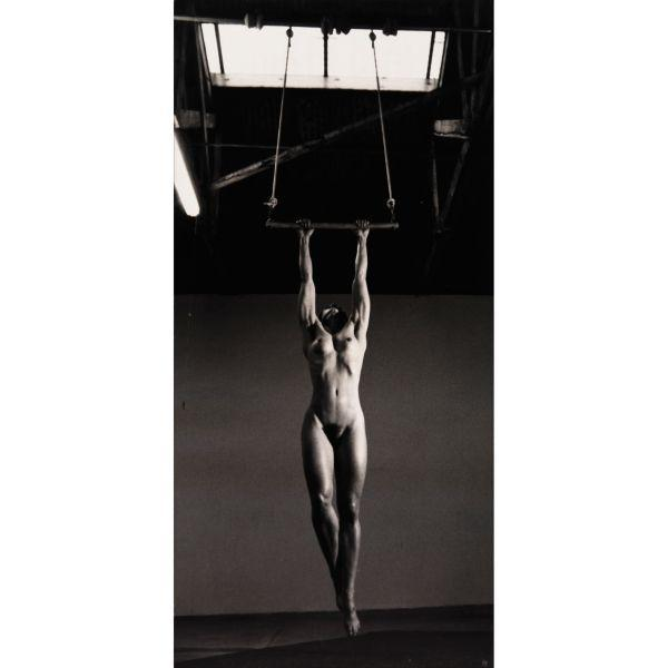 Helmut Newton-Lisa Lyon In Her Studio, Venice, California-1981