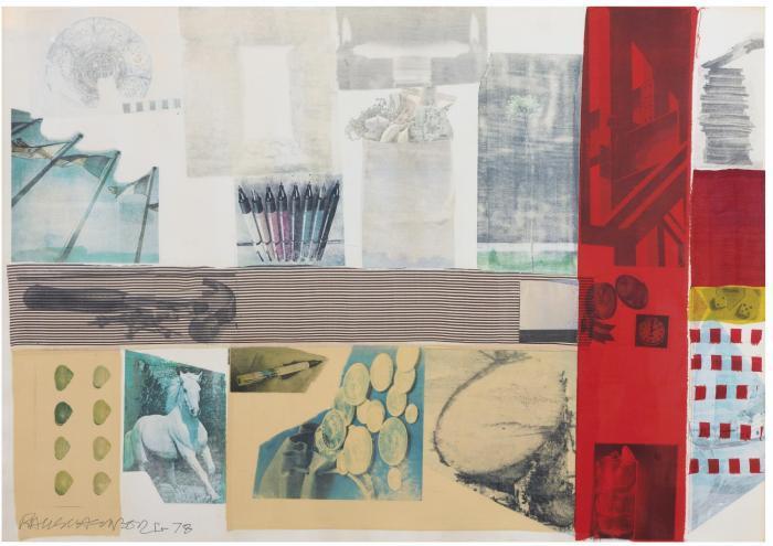 Robert Rauschenberg-Robert Rauschenberg - Anti-nuke drawing-1978