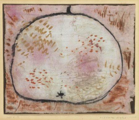 Paul Klee-Pramierter Apfel-1934